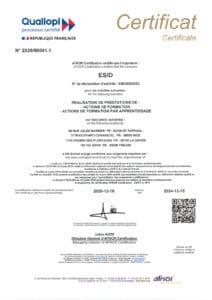 Certification Qualiopi ESiD Nice Fréjus