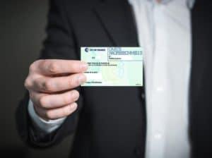 Carte professionnelle transactions en immobilier