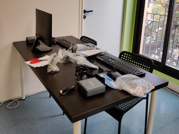 Installation du matériel - ESiD Nice